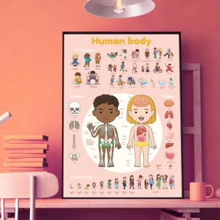 Poster & stickers Corps Humain - Poppik
