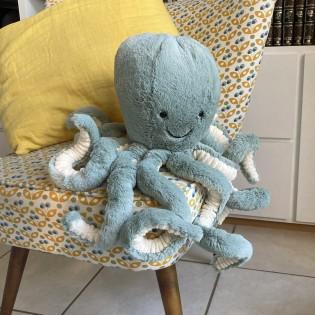 Grande peluche pieuvre Odyssey - Jellycat