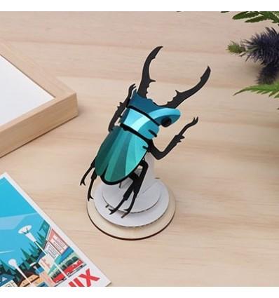 Insecte DIY Stag Beetle vert - Assembli