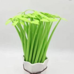 Stylo Pousse Verte en silicone