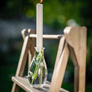 Vase rétro en verre - Augustine