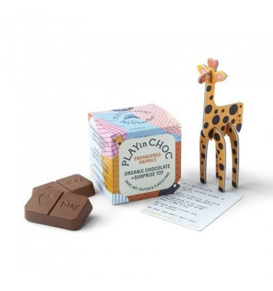 Chocolat surprise biologique Animaux en Danger - Play in Choc