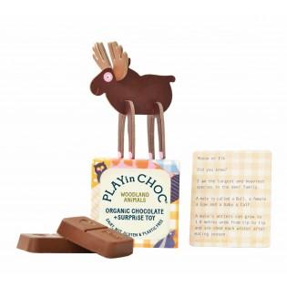 Chocolat surprise biologique Animaux de la Forêt - Play in Choc