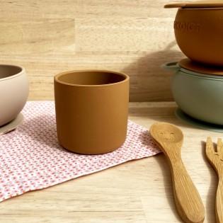Gobelet en silicone Caramel - Minikoioi