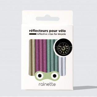 Réflecteurs pour rayons de vélo Multicolores - Rainette