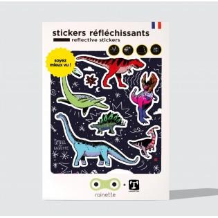 Sticker réfléchissant Dinosaures - Rainette