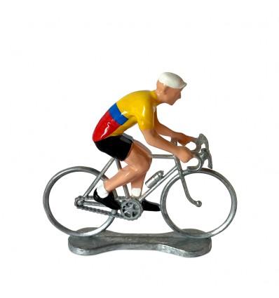 Figurine cycliste Colombie - Bernard & Eddy