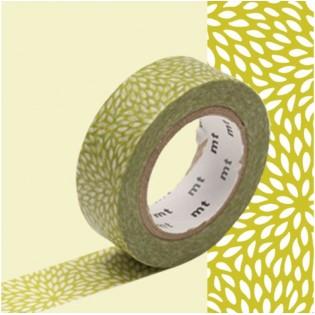 Masking tape mujinagiku vert olive