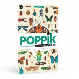 Poster & stickers Insectes - Poppik