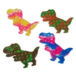 Pop it Dinosaure Multicolore