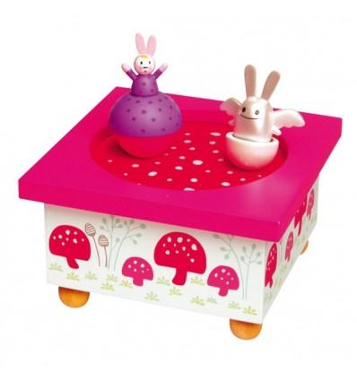 Boîte à musique lapins