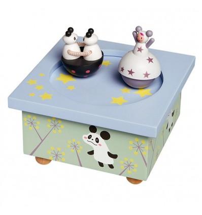 Boîte à musique Pandas