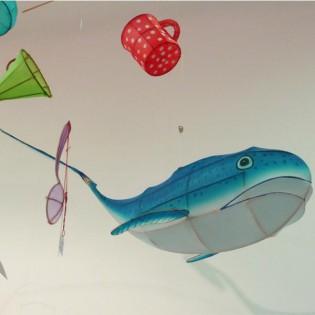 Baleine bleue Petit pan