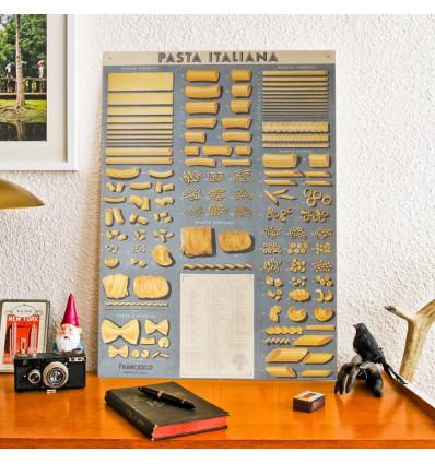 Affiche Pâtes italiennes - Cavallini