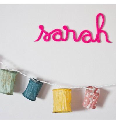 Prénoms de laine personalisé