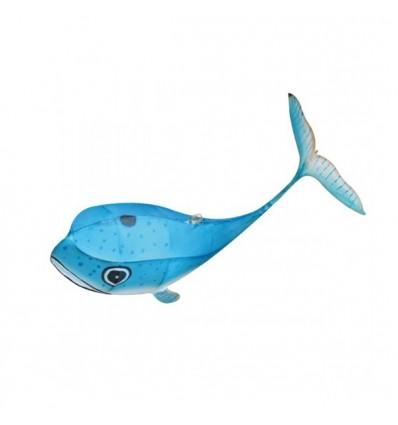 Mini baleine Petit Pan soie et bambou