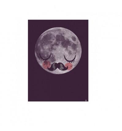 Affiche Moon de Martin Krusch