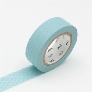 Masking tape alvéoles bleu